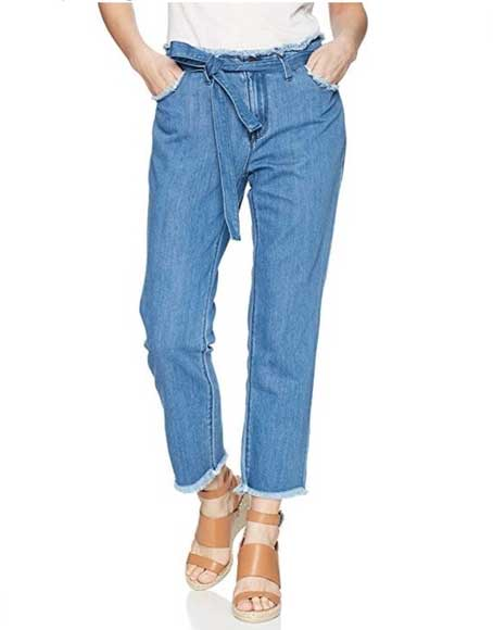 how to wear, paperbag jeans, paper bag jeans, how to style paper bag jeans