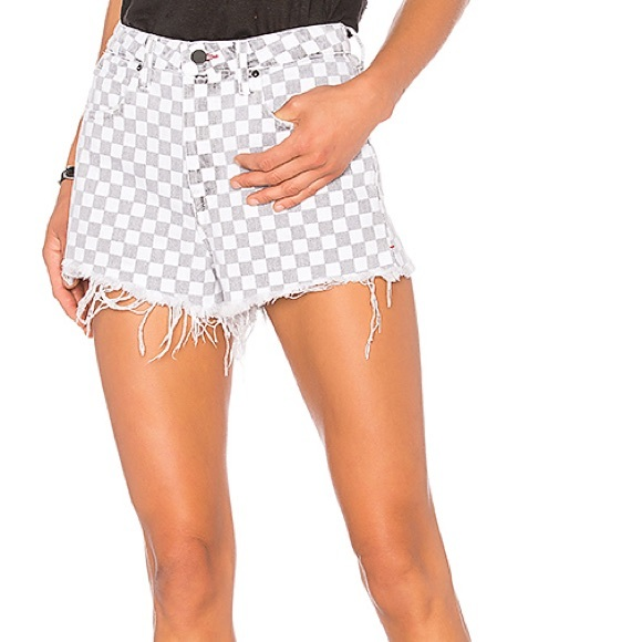 checkerboard ripped jeans. checkerboard jeans, checkered jeans, checkered shorts, checkered jeans, check jeans, checked jeans
