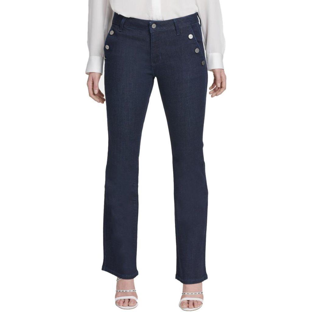 sailor jeans, straight leg jeans