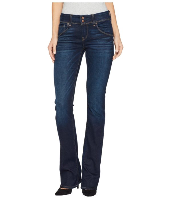 Hudson Jeans Beth Mid-Rise Baby Bootcut Back Flap Pocket