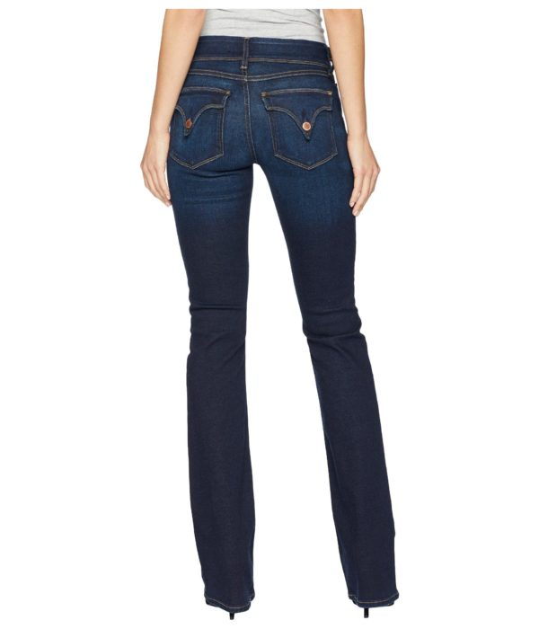Hudson Jeans Beth Mid-Rise Baby Bootcut Back Flap Pockets