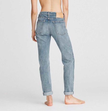 slouchy fit boyfriend jeans, what is boyfriend fit