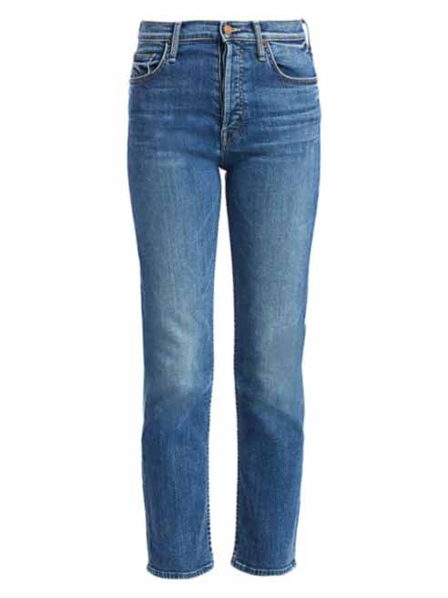 mother tomcat jeans, crop jeans, cropped jeans