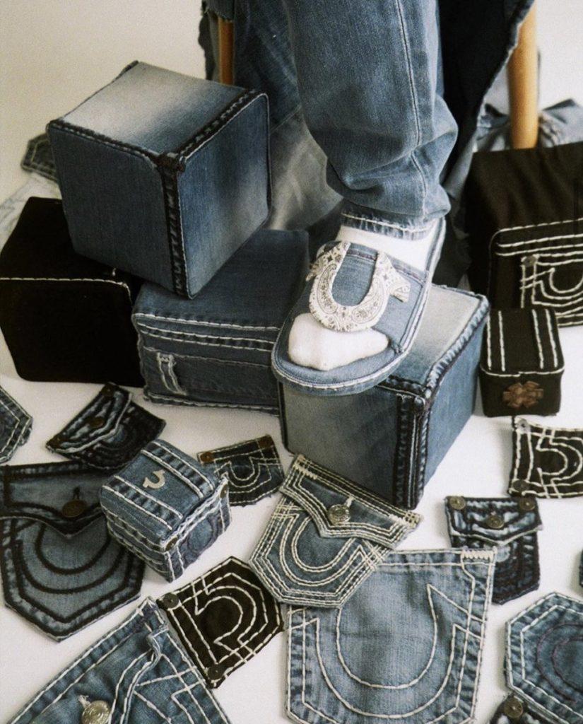sustainable denim, true religion denim jeans