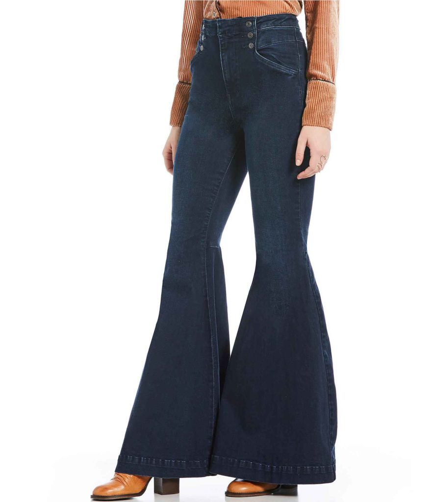sailor jeans, Free People Maddox bell bottom jeans