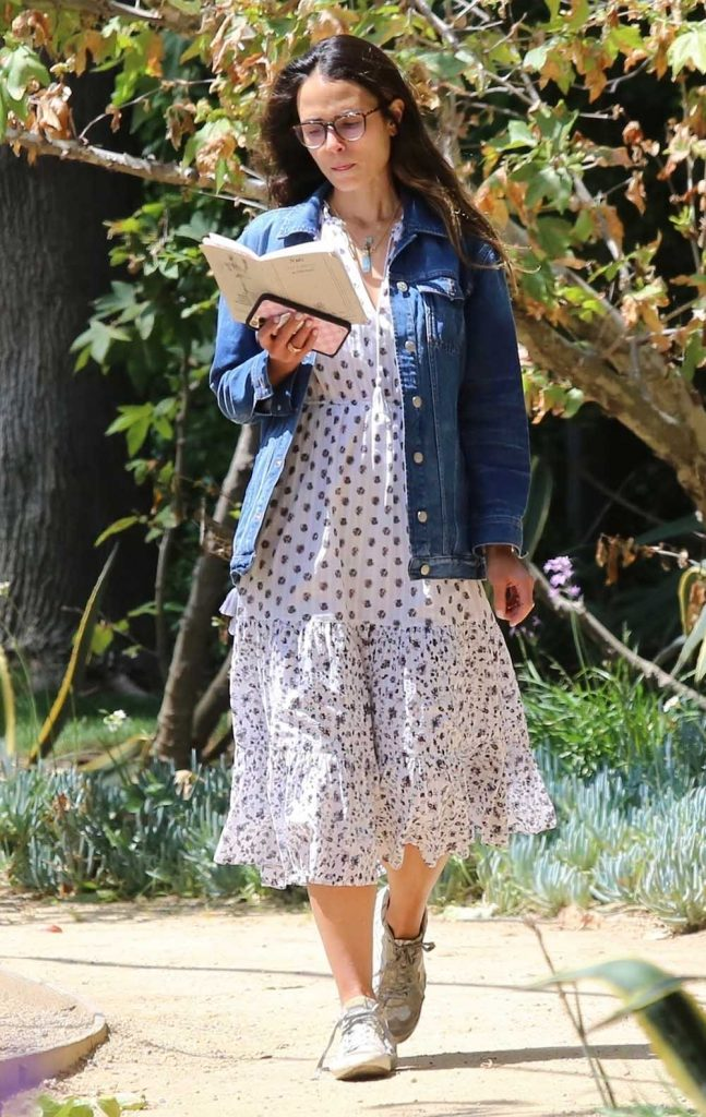 Denim Jacket,, Jordana Brewster