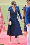 denim dress, denim tea dress, Meghan Markle, Duchess of Sussex wearing a denim tea dress