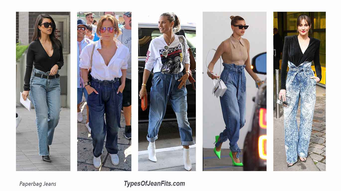 Paperbag Jeans, Paperbag Shorts and Paperbag Skirt Looks