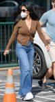 wide legged jeans, Nicole Scherzinger